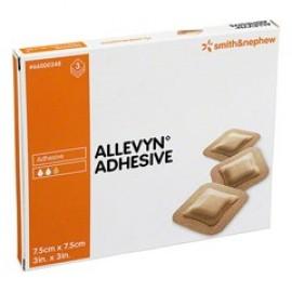 ALLEVYN ADHES  7,5X 7,5CM  3PZ