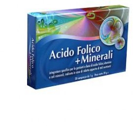 ACIDO FOLICO+ MINER 20CPR AURORA