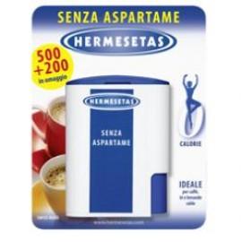 HERMESETAS S/ASPARTAME 500+200