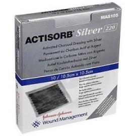 ACTISORB SILV 220 10,5X10,5  3PZ