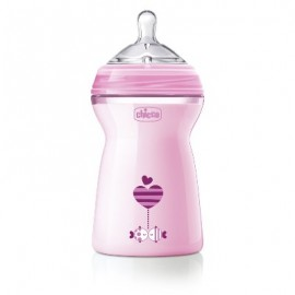 CH BIB NATFEEL 6M+ GIRL 330ML