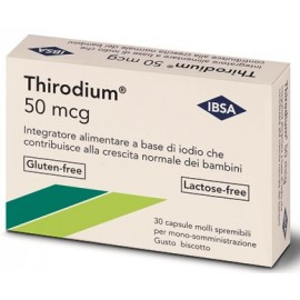 THIRODIUM 50MCG 30CPS SPREMIB