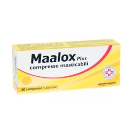 MAALOX PLUS*30CPR MAST F1000