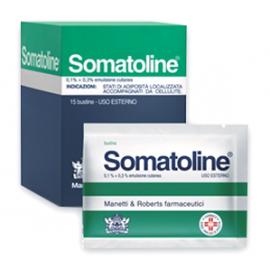 SOMATOLINE*EMULS 15 BUSTE 10G
