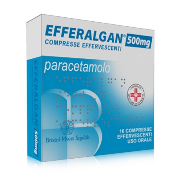 EFFERALGAN 500* 16 CPR EFF.