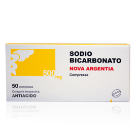 SODIO BICARB 50CPR 500MG ARG