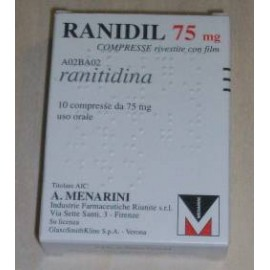 RANIDIL 75*10 CPR 75 MG