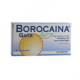 BOROCAINA GOLA*20 CPR ARAN.