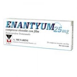 ENANTYUM*20CPR RIV 25MG