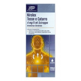 NIROLEX TOSSE/CATAR SCIR 250ML