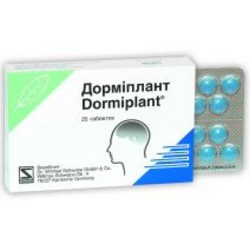 DORMIPLANT*25CPR RIV160MG+80MG