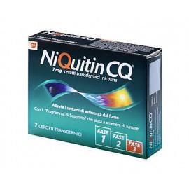 NIQUITIN CQ*7CER TRANSD  7MG
