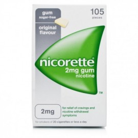 NICORETTE*GOMME 105MAST 2MG