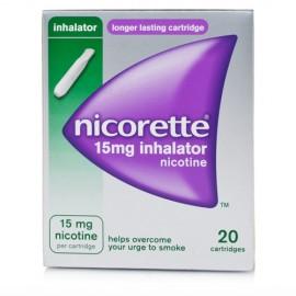 NICORETTE*INHALER 20FL 1D 15MG