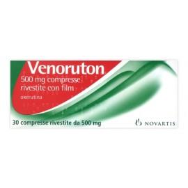 VENORUTON*30CPR RIV 500MG