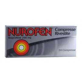 NUROFEN*24CPR RIV 200MG