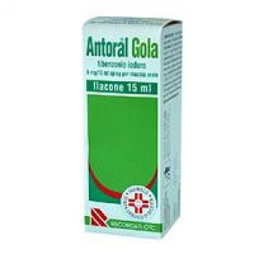 ANTORAL GOLA*SPRAY 15 ML