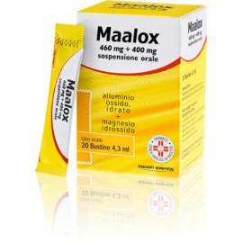 MAALOX*SOSP 20BUST 460MG+400MG