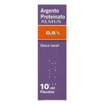 ARGENT P ALMUS*0,5% GTT 10ML