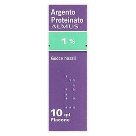 ARGENT P ALMUS*1% GTT 10ML