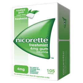 NICORETTE*105GOMME MAST 4MG MENT