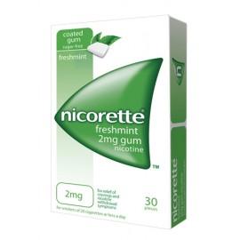 NICORETTE*GOMME  30MAST 2MG