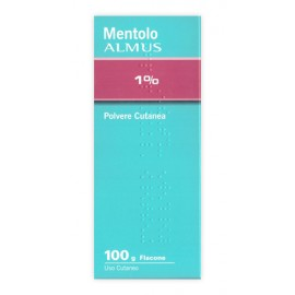 TALCO MENTOLATO ALMUS*1% 100G
