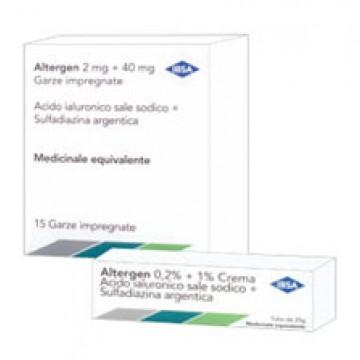 ALTERGEN*15GARZE MEDICATE