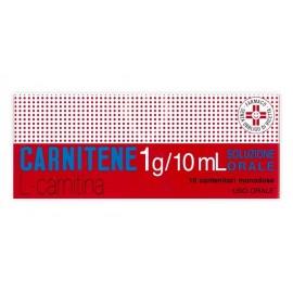 CARNITENE*OS 10 FL MONOD. 1G