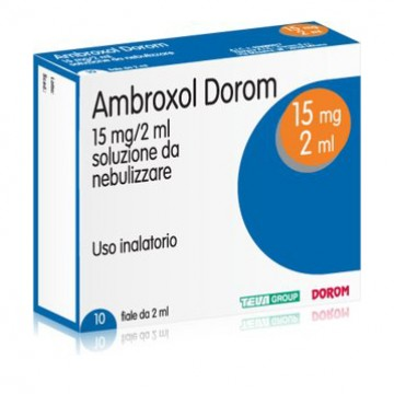 AMBROXOL DOROM*NEB 10F 2ML15MG