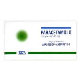 PARACETAMOLO ZETA*20CPR 500MG