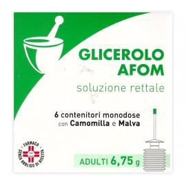 GLICEROLO AFOM*6CONT 6,75G