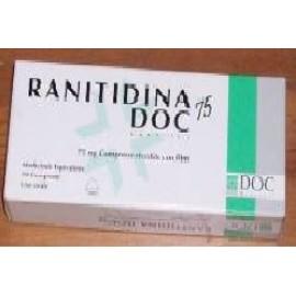 RANITIDINA DOC*10CPR RIV 75MG