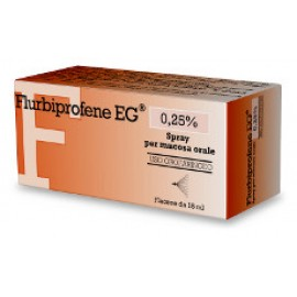 FLURBIPROFENE EG*OS SPRAY 15ML