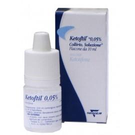 KETOFTIL*COLL FL 10ML 0,05%