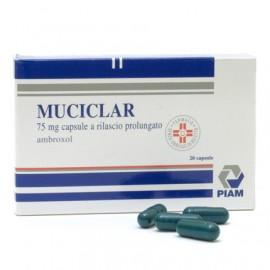 MUCICLAR RETARD*20 CPS 75 MG