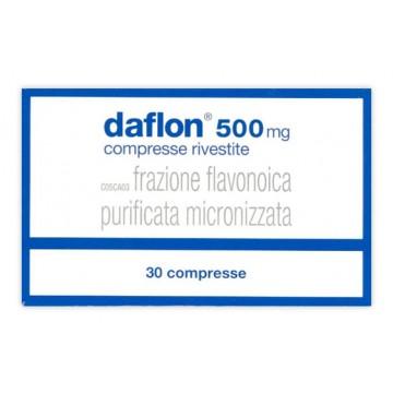 DAFLON *30CPR RIV 500MG