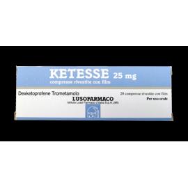 KETESSE*20 CPR RIV. 25 MG