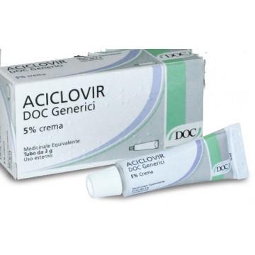 ACICLOVIR DOC*CREMA  3G 5%