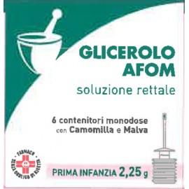 GLICEROLO AFOM*6CONT 2,25G