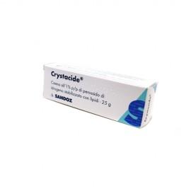 CRYSTACIDE*CREMA 25 G 1%