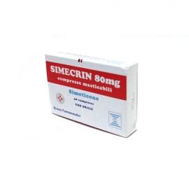 SIMECRIN*30CPR MAST  80MG