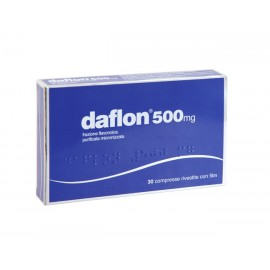 DAFLON*30CPR RIV 500MG F1000