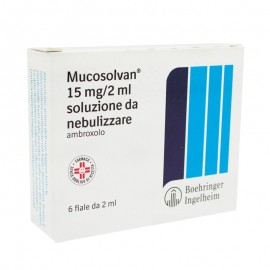 MUCOSOLVAN*NEBUL 6F 2ML 15MG