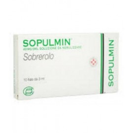 SOPULMIN*AEROSOL 10F 3ML 40MG