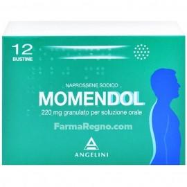 MOMENDOL*OS GRAT 12BUST 220MG