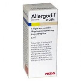 ALLERGODIL*COLL FL 6ML 0,05%