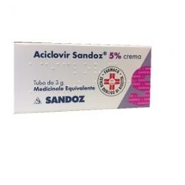 ACICLOVIR SAND*CREMA 3 G 5%