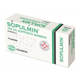 SOPULMIN*BB 10SUPP 100MG